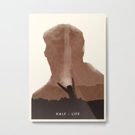 Half Life (II) Metal Print