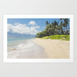 Kawililipoa Beach Kihei Maui Hawaii Art Print
