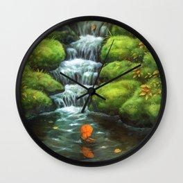Little Stream Wall Clock