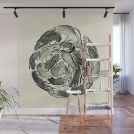 Bunny Ball Wall Mural