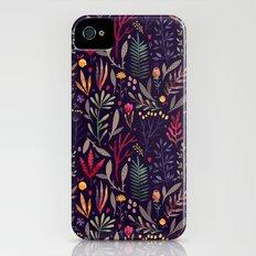 Botanical pattern Slim Case iPhone (4, 4s)