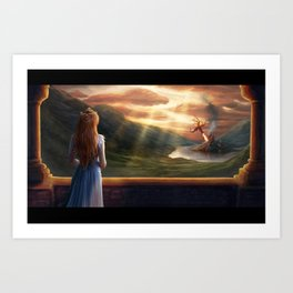The beauty of war Art Print