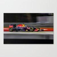 formula 1 Canvas Prints featuring Formula 1 by Srdjan Petrovic