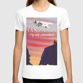 Tanzania African flight Poster T-shirt