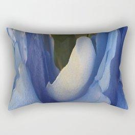 303 - Abstract Flower Design Rectangular Pillow