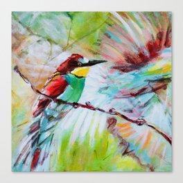 Flit Canvas Print