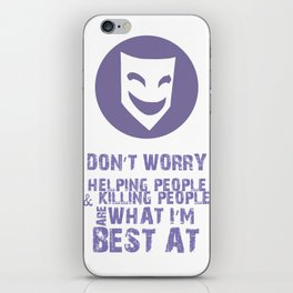 What I'm Best At V2 iPhone Skin