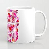 home sweet home Mugs featuring Home Sweet Home by Shakkedbaram