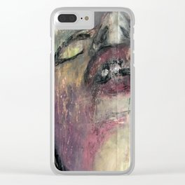 sky, sometimes falling Clear iPhone Case