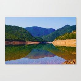 beautiful lake Canvas Print
