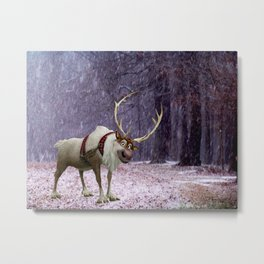 Reindeer Are Better Than People Metal Print