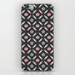 Hanami Nummies   Black Sakura iPhone Skin
