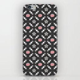 Hanami Nummies | Black Sakura iPhone Skin