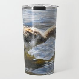 American Avocet Chick Travel Mug