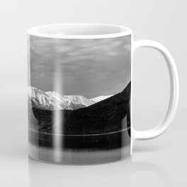 Winter Monochrome Lake Coffee Mug