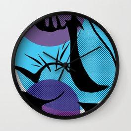 POP ART FLEXIN' Wall Clock