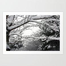 Snowscape Art Print