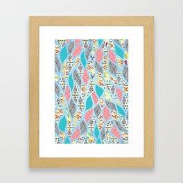 Summer Celebration Framed Art Print