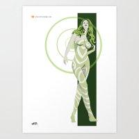 vertigo Art Prints featuring Vertigo by Andrew Formosa