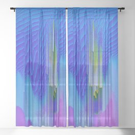 Waterfall Sheer Curtain