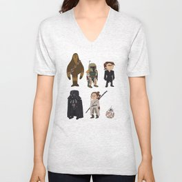 In a Galaxy Far, Far Away Unisex V-Neck