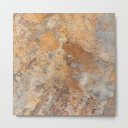 Granite and Quartz texture Metal Print