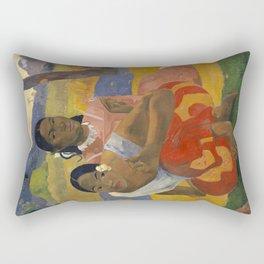 Paul Gauguin - When Will You Marry? Rectangular Pillow