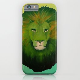 Earth Lion iPhone Case