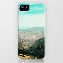 Laguna Mars Mountains iPhone Case