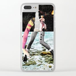 Unisom Clear iPhone Case