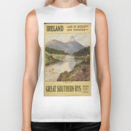 Vintage poster - Ireland Biker Tank