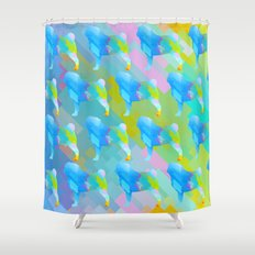 Pugs Pattern Shower Curtain