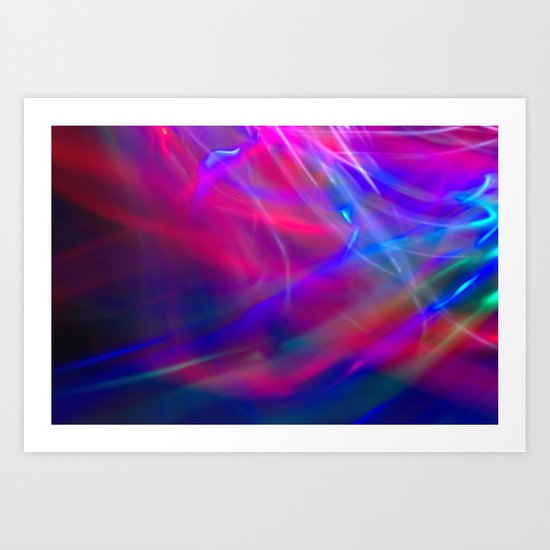 Colour Abstract Art Print