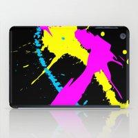 splatter iPad Cases featuring Splatter by Spooky Dooky