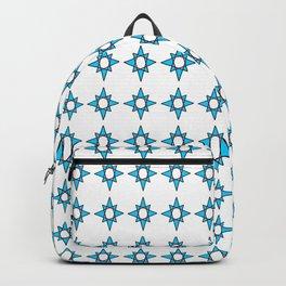 symetric patterns 35 -mandala,geometric,rosace,harmony,star,symmetry Backpack