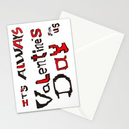 Always Valentine Stationery Cards