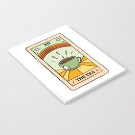 That's the TEA, sis tarot card Notebook