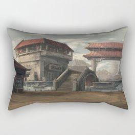 Market Place Rectangular Pillow