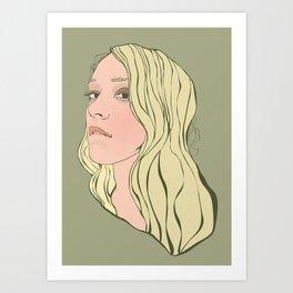 Chloe Sevigny Art Print