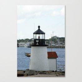 Brant Point Light House Nantucket Canvas Print