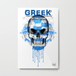 To The Core Collection: Greece Metal Print