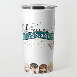 Court of Terrasen 2 Travel Mug