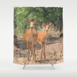 Kanha Shower Curtain