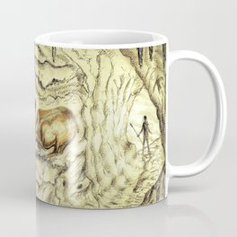 Rock Shelter Reindeer  Coffee Mug