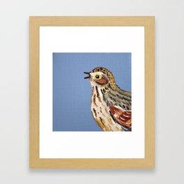 Eastern Songbird Series - Swallow #2 Framed Art Print