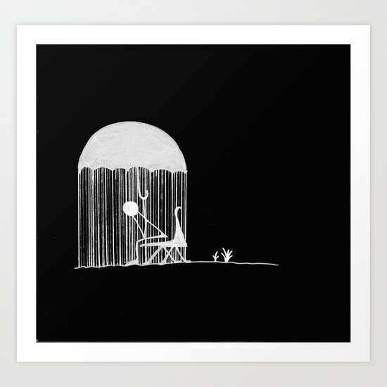 'Cause You Had A Bad Day... Art Print