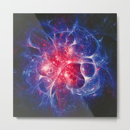 Fractality - Chaotic Fixations Metal Print