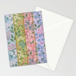 Art Nouveau Stripe Stationery Cards