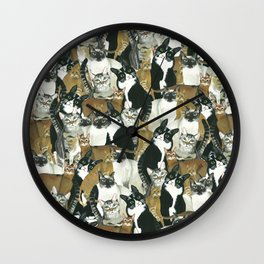 Kitkat. Wall Clock