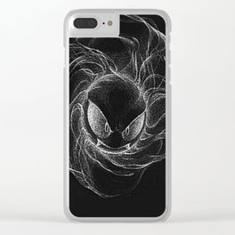 gastly Clear iPhone Case